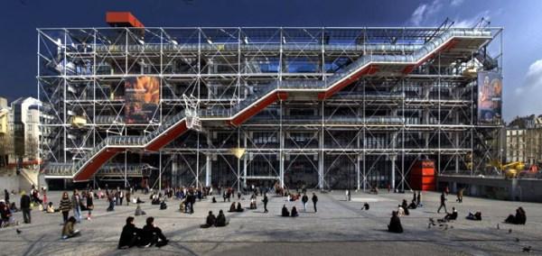 Centre Pompidou - Casa Ao Cubo - Foto: parisporpaulopereira.com