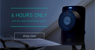 6 Hours Only — Free Security Camera from SimpliSafe