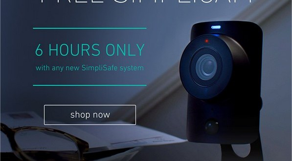 6 Hours Only -- Free Security Camera