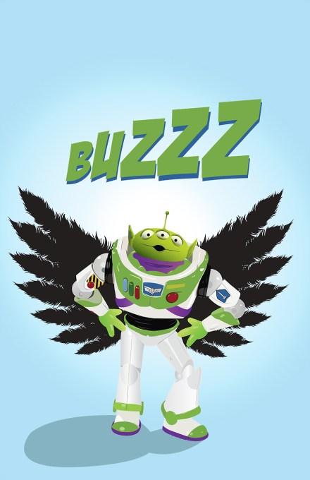 Buzz lightyear hybrid
