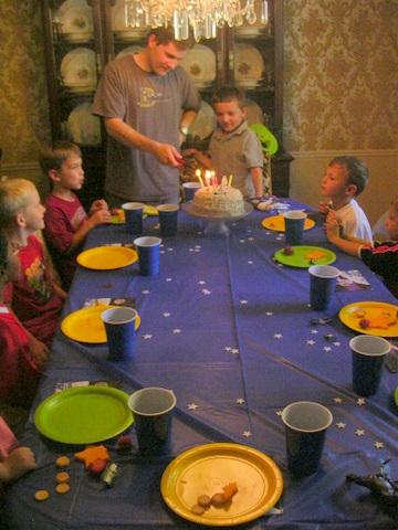 Jeffrey Birthday 2009 table