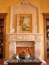 Cantera Fireplaces - Casa de Cantera