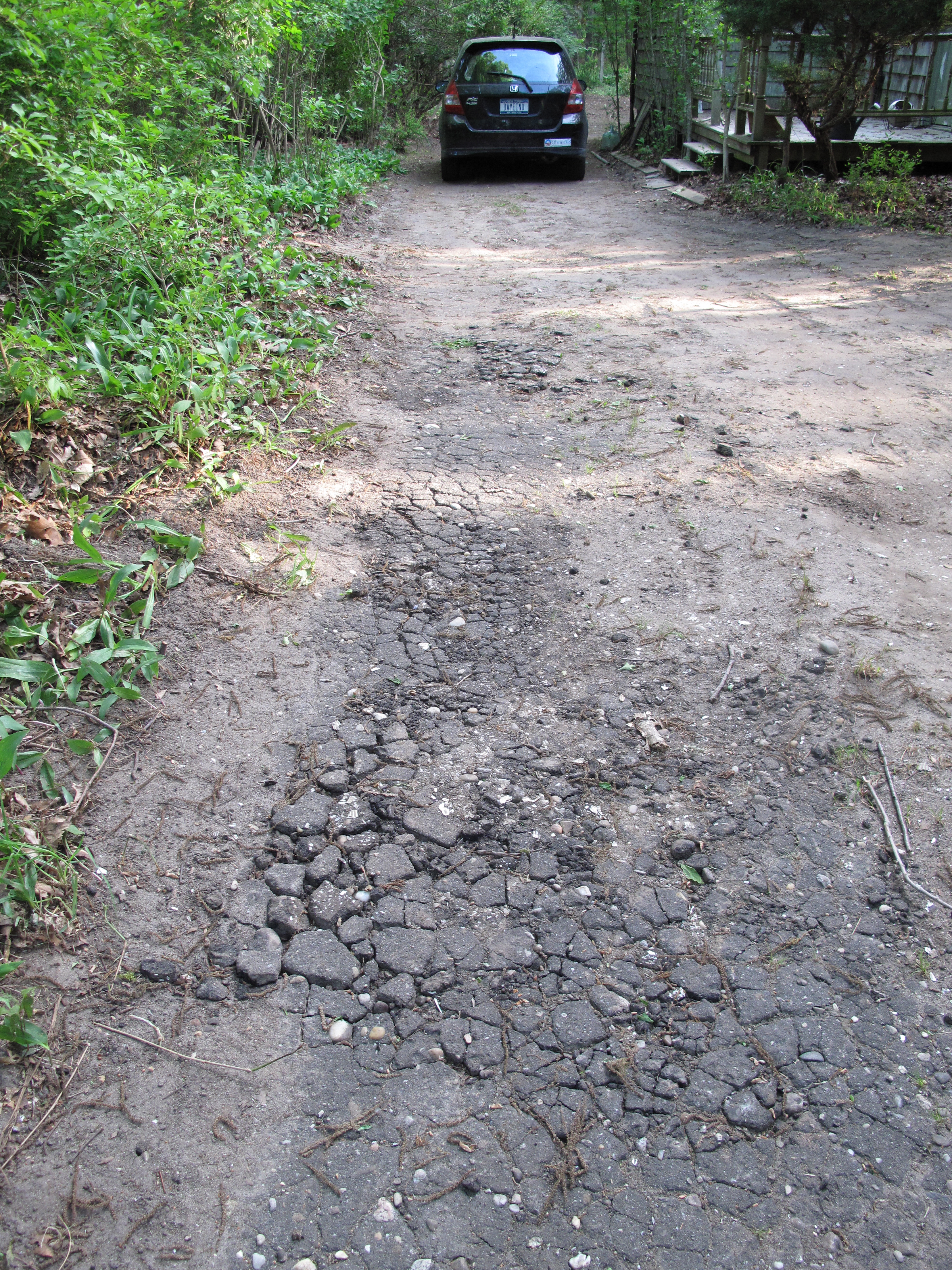 Got a $2600 quote for an 80' gravel driveway lined with Belgian block but i'm in no great hurry