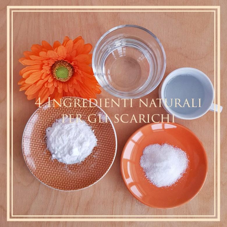 Come liberare gli scarichi in modo naturale, 4 ingredienti