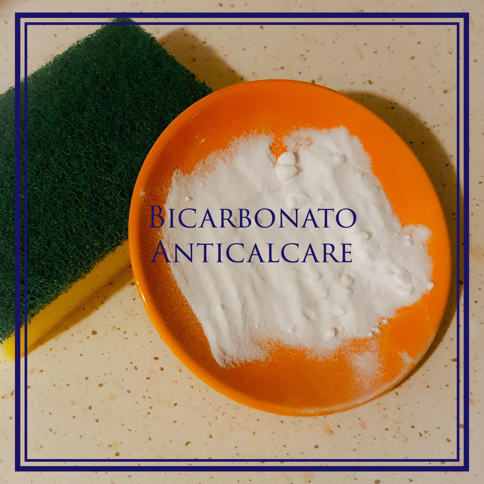 Bicarbonato per togliere il calcare