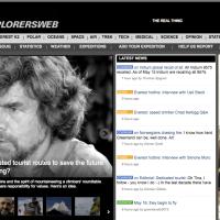 CCCyberLink > Una foto storica di Messner nella nostra Casa come cover di ExWeb di NY