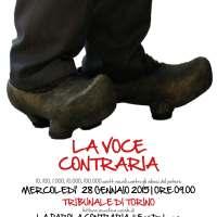 LA VOCE CONTRARIA | a sostegno di Erri De Luca | CONCERTO-ORAZIONE PER CORO A VOCE SINGOLA