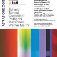 ASTRAZIONE OGGETTIVA |  ADAC MART | Nuova Galleria Civica MM