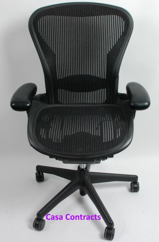 Herman Miller Aeron chair mesh base and back 1a