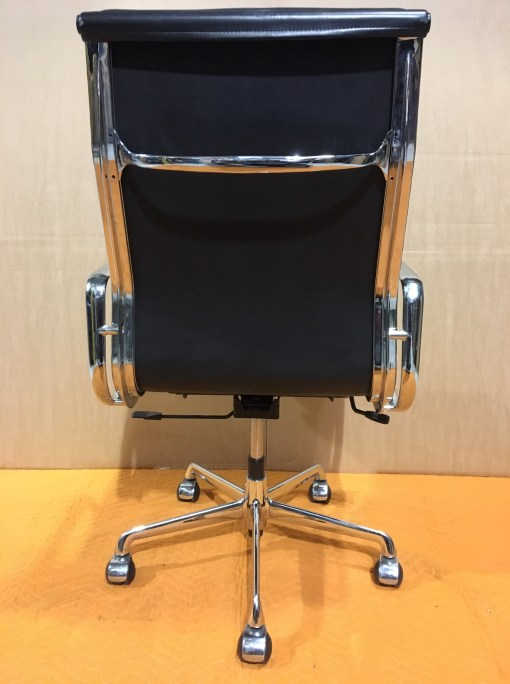 ICF Eames EA219 Black leather high back 3