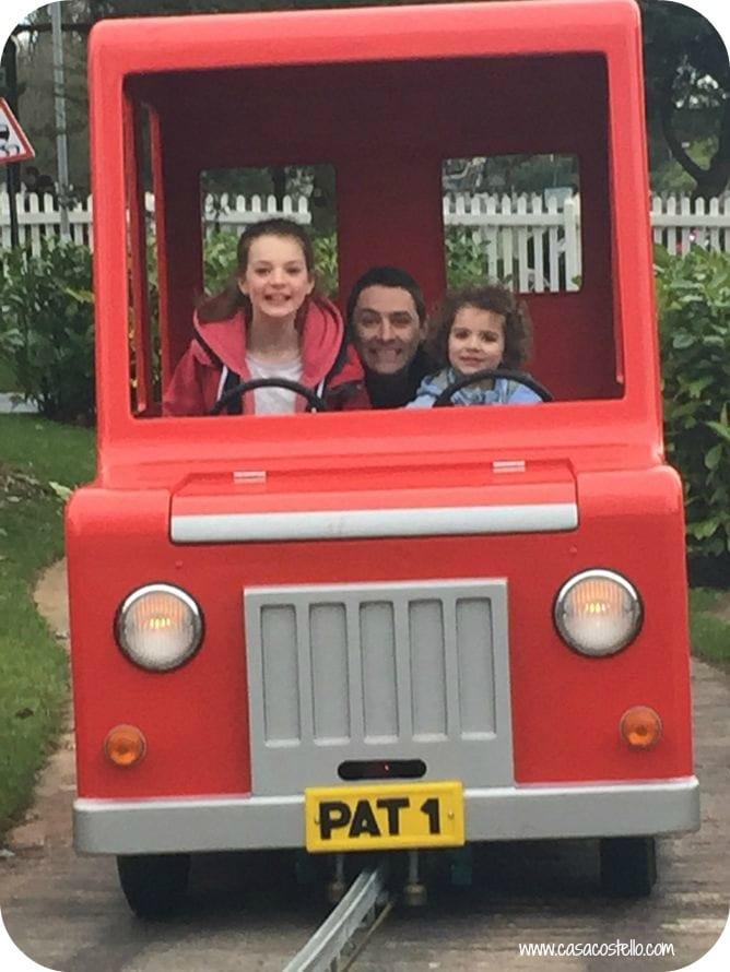 alton towers postman pat ride