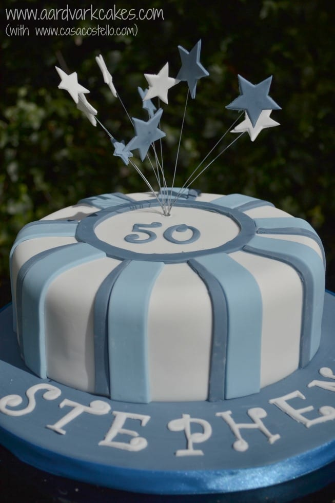 Mens 50th Birthday Cake Ideas