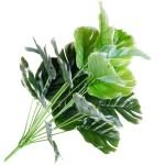 18 leaves 49cm white