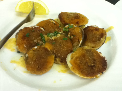clams oreganta