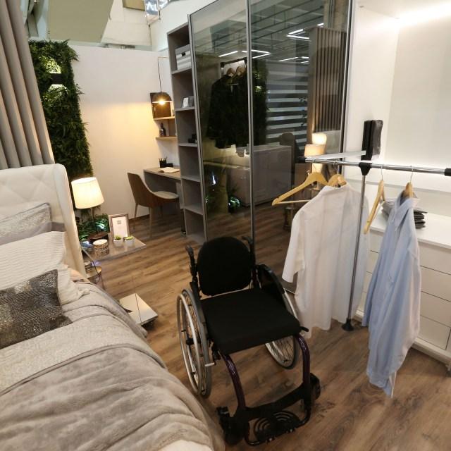 Mostra Lar Center de Arquitetura e Design Universal – Ambiente Suíte master – Profissional Flavia Rosa Toma