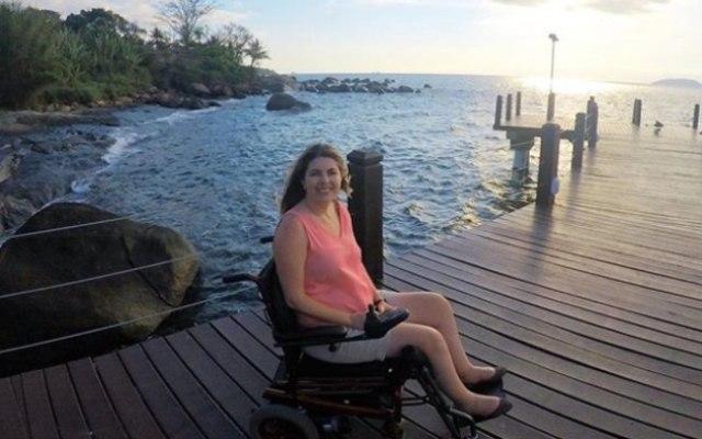 Ketly sempre gostou muito de viajar e, por conta da distrofia muscular, tinha uma lista de lugares acessíveis para pessoas com deficiência ou alguma limitação. Foi por conta disso que criou a página no Instagram 'Acessibilidade tô de olho'