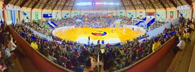 Cava do Bosque recebeu Mundial de Futsal Down de 29 de maio a 4 de junho — Foto: F.L.Piton/Prefeitura Municipal Ribeirão Preto