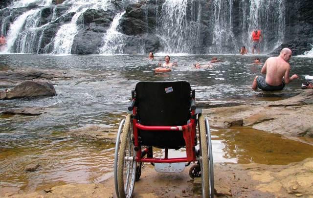 Cachoeira para todos em Itacaré. Acessibilidade e natureza em harmonia.