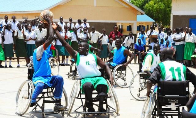"""No Dia Internacional das Pessoas com Deficiência deste ano, ONU promove na sede o evento """"Esporte para todos, pela paz e pelo desenvolvimento"""". Foto: ONU News."""