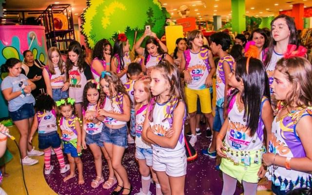 Shoppings têm atrações para crianças no carnaval em Goiânia — Foto: Reprodução/Laura Helena
