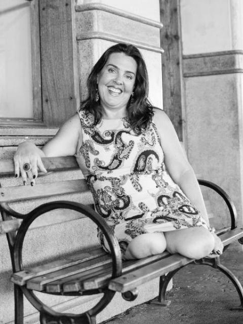 A veterinária Roberta, uma das fotografadas - Cacá Dominiquini