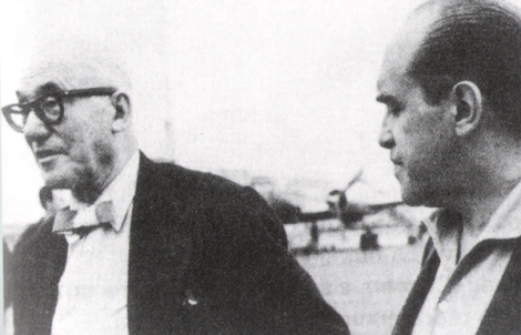 Le Corbusier e Niemeyer, dois dos mais famosos exponentes da arquitectura modernista