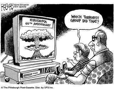 Aniversário do Bombardeamento de Hiroshima- 'Que Grupo Terrorista Fez Aquilo?'
