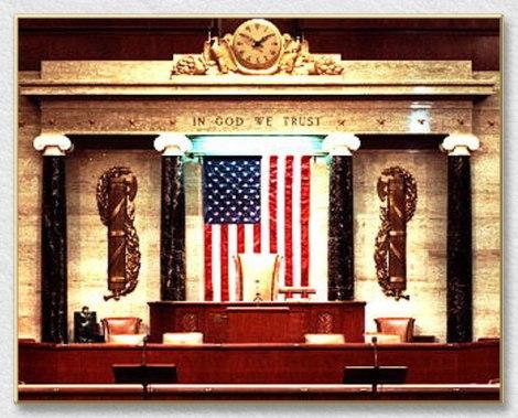 O Congresso dos Estados Unidos da América ostenta dois Fascios