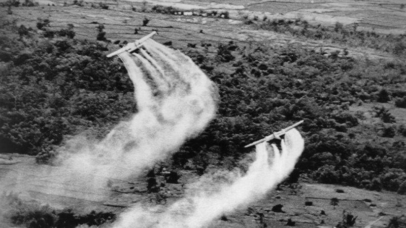 Planes Spraying Agent Orange