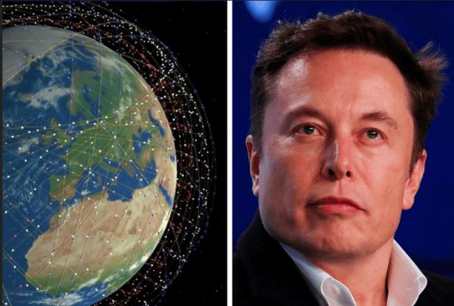 Elon Musk Starlink