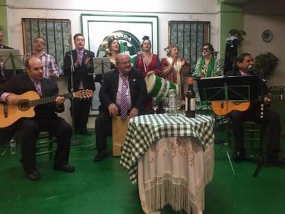 Actuación del Coro Romero y Jara