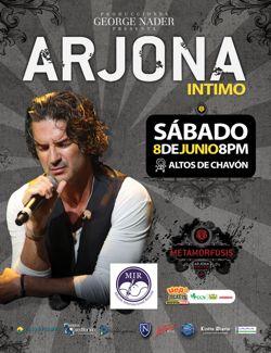 flyer ricardo arjona concert
