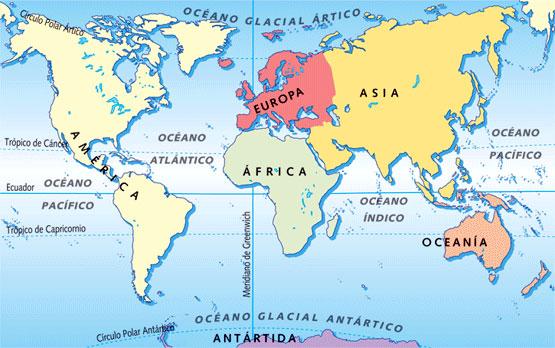 hemisferios tierra