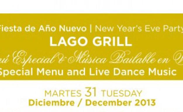 New years menu