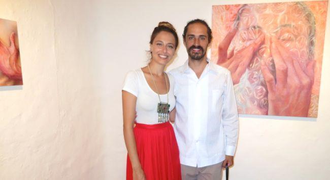 Tatiana Ortiz-Rubio art Altos de Chavon