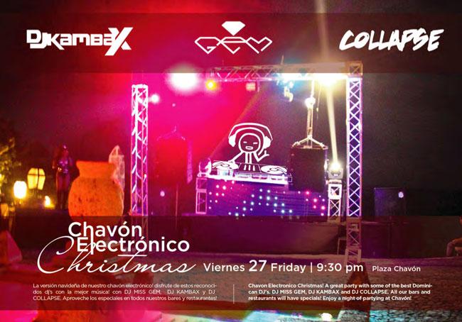 Chavon Electronico Christmas