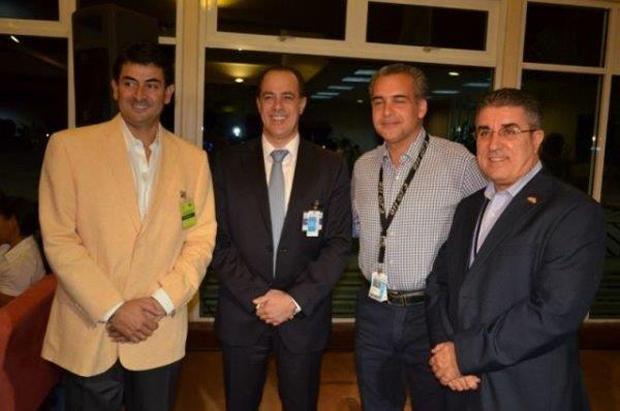 Daniel Hernandez, Francisco J. Perez, Luis Emilio Rodriguez and Andres Fernandez