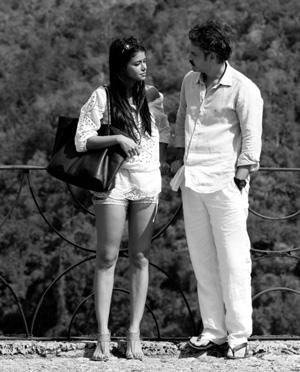 Frank Perozo and Evelyna Rodríguez