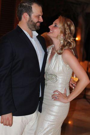 Philip Silvestri and Rebecca Hughes