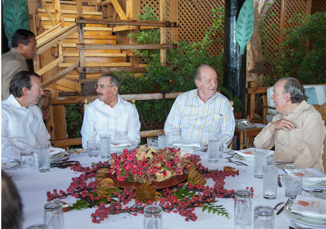Pepe Fanjul, Danilo Medina, King Juan Carlos, Jose Pepe Fanjul, Casa de Campo