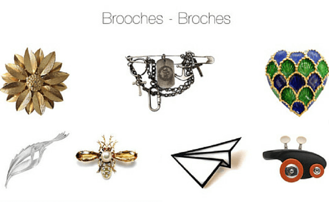 Brooches Variety