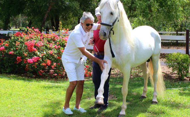 Celebs in Casa 2015 - Andrea Bocelli