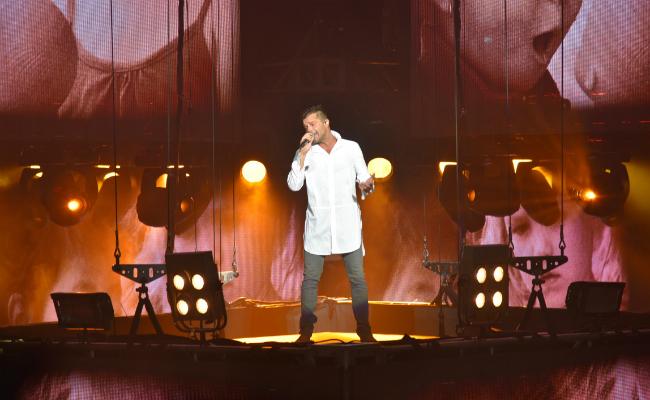 Ricky Martin All White