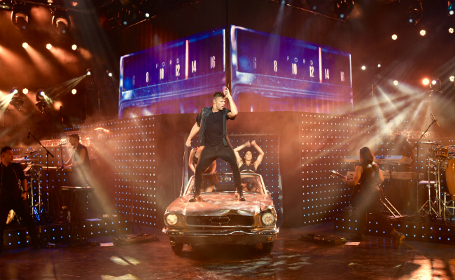 Ricky Martin Car Hud