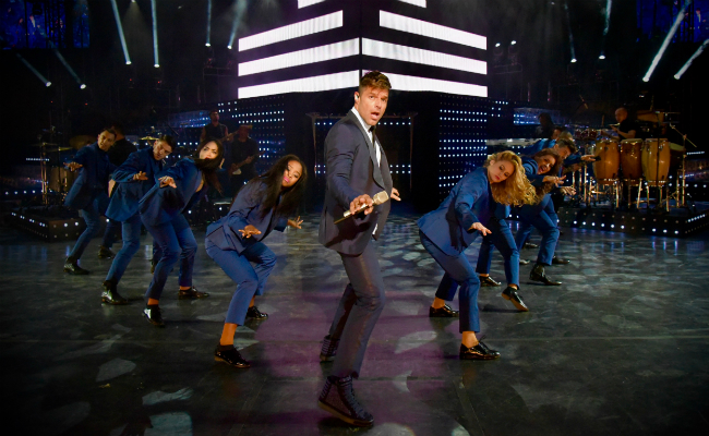 Ricky Martin Concert Featured