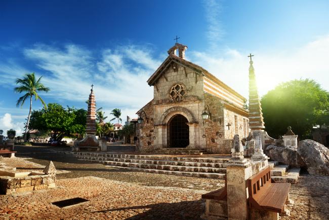 St. Stanislaus Church Altos de Chavón