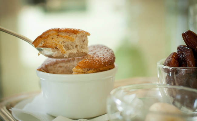 Whipped Soufflé of Dates