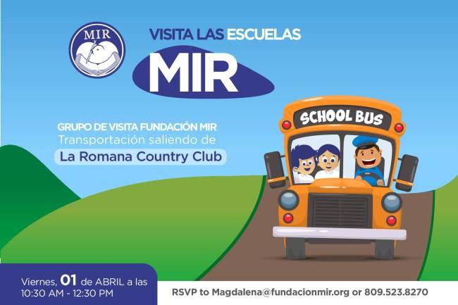 Visita Fundación MIR Flyer Español
