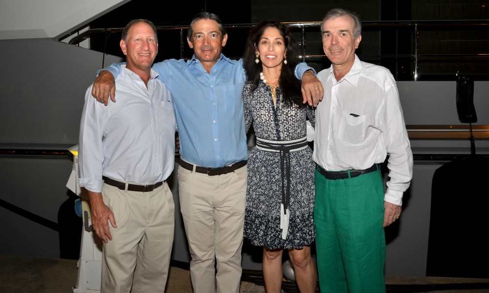 Guests Sugar Golf Tournament Opening Cocktail