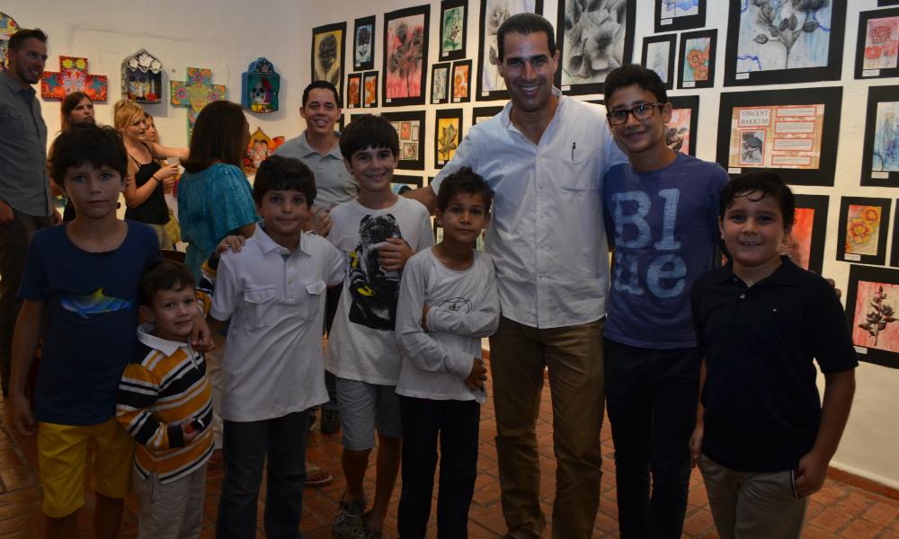Group Photo ALS Art Exhibit 2016